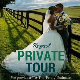 Request a private tour to Morningside Inn country wedding venue in Maryland.